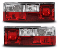 Mk1 Golf Crystal Red/Clear Rear Lights S2